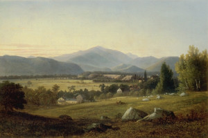 Mount Washington and Champney's Homestead, North Conway by Benjamin Champney
