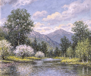 Mount Kearsarge in Spring by William F. Paskell