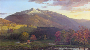 Presidential Range from Gorham with Mount Madison and Mount Adams by Horace Wolcott Robbins